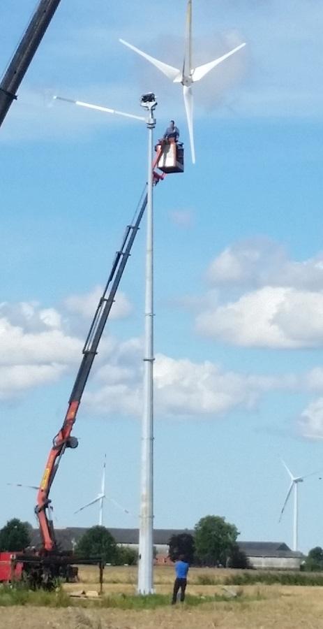 Kleinwindkraftanlage Antaris 10 kW