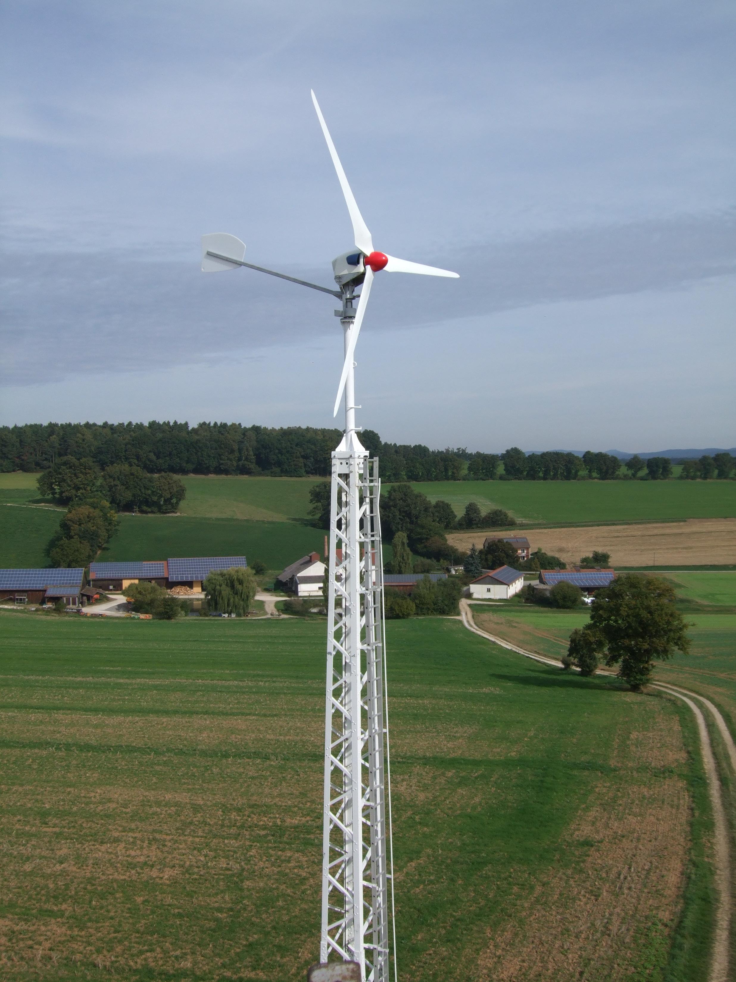 Kleinwindkraftanlage Antaris 7.5 kW