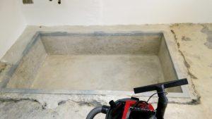 Brennstoffzellenheizung Eigenleistung bei niedriger Kellerdecke