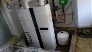 Brennstoffzelle im Einfamilienheim als neue stromerzeugende Heizung