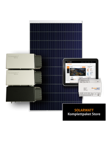 Solarwatt PV Komplettpaket STORE mit Stromspeicher