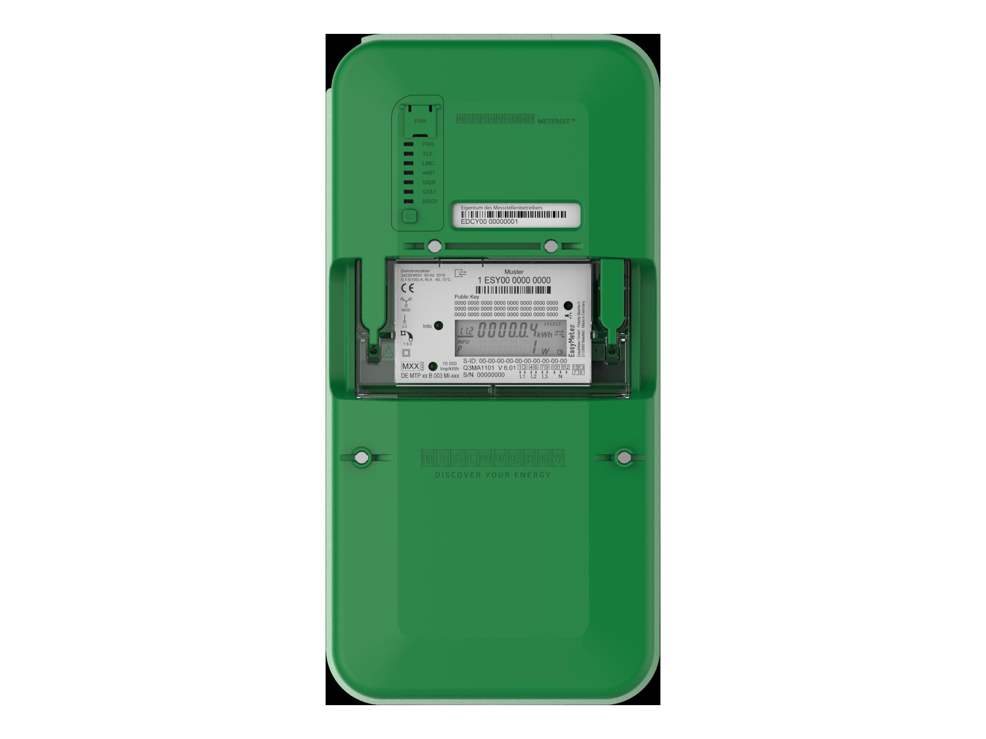 Smart Meter für Transparenz bei Energieverbrauch und Energieerzeugung